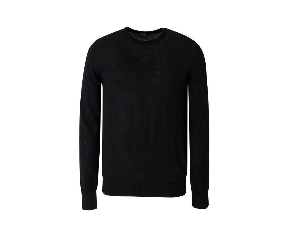 Essential Crewneck_black
