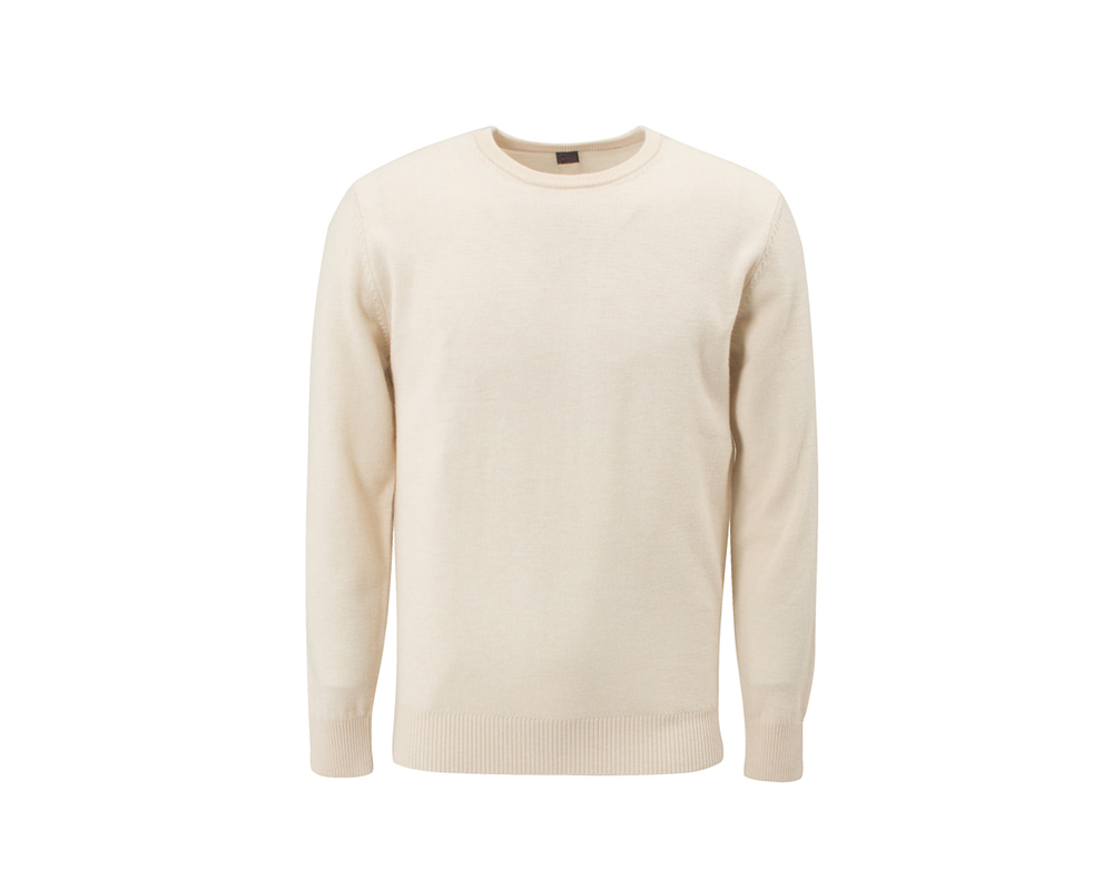 Soft Essential Crewneck_Ivory