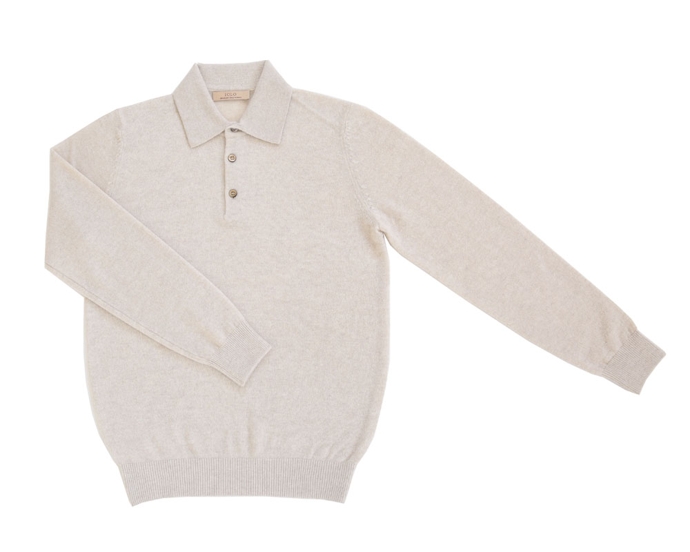 Soft Cashmere Collar_Ivory