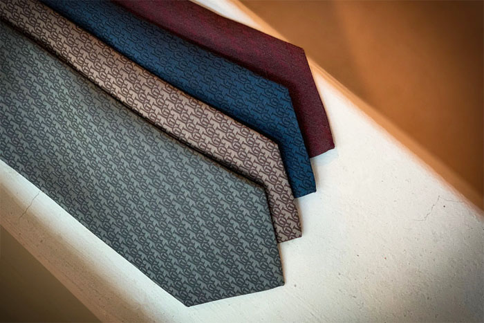 Signature Silk Necktie_4 colors