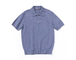 Terric half collar_Blue