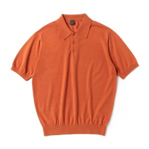 Supima half collar_Orange
