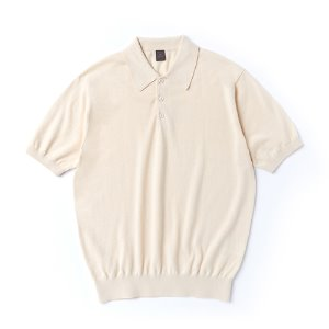 Supima half collar_Cream