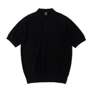 Supima half collar_Black