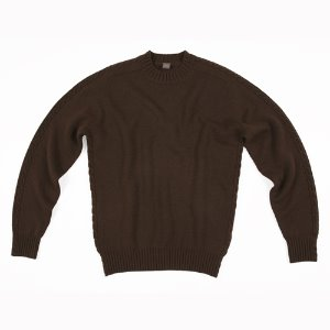 Cable Crewneck_Brown