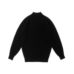 Whole Garment Mockneck_Black