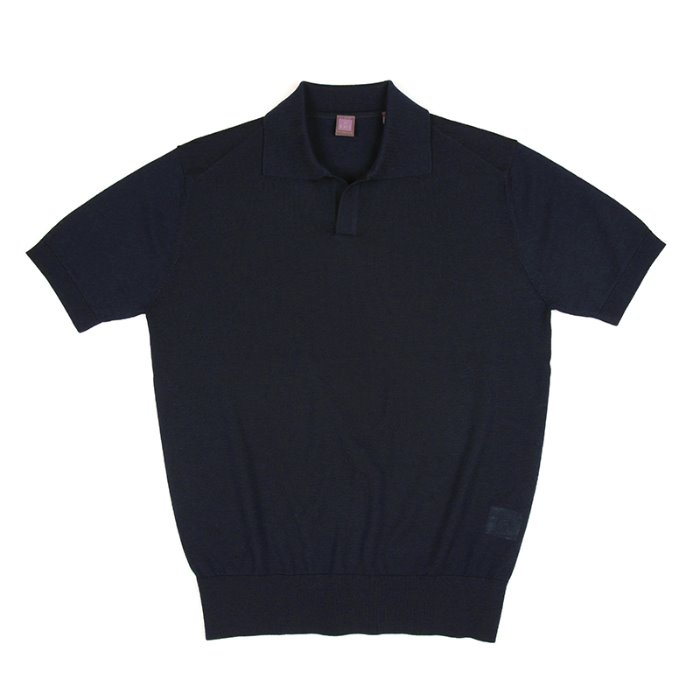 Royal Half Opencollar_Navy