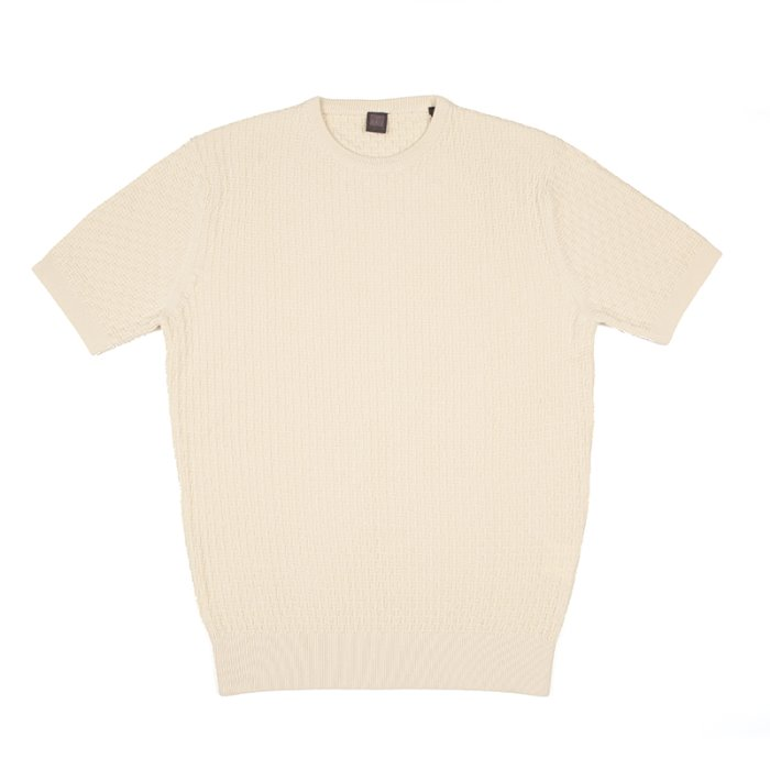 Signature half Crewneck_Cream